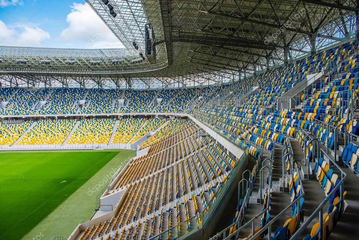 Empty Stadium Due to COVID